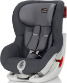 Детское автокресло Britax Roemer King II Black Series Storm Grey Trendline